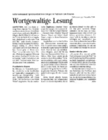 11_2008 Wortgewaltige Lesung