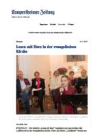 10_11_2017 Lesen mit Herz in der evangelischen Kirche